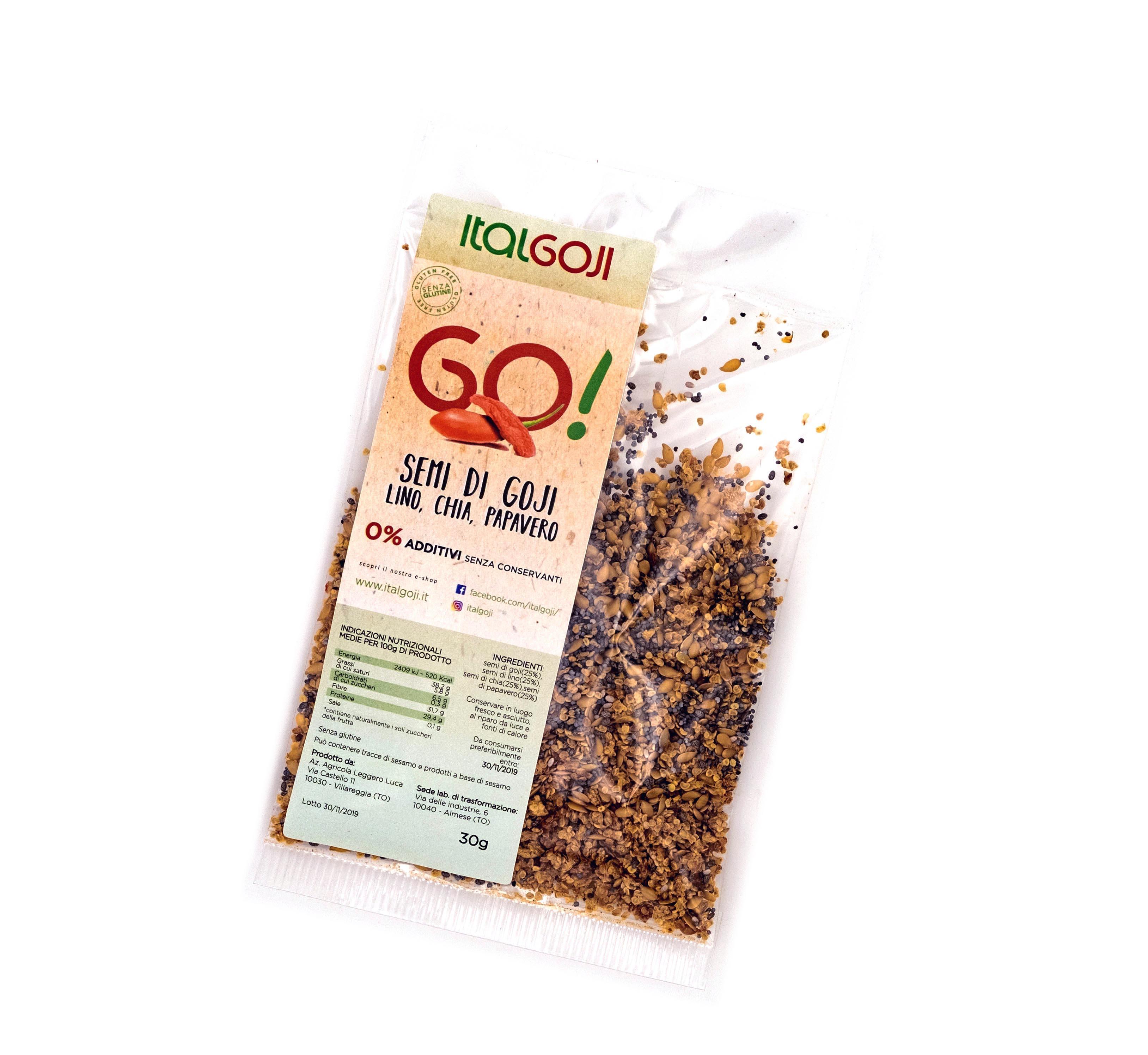 ricetta dimagrante chia e semi di lino